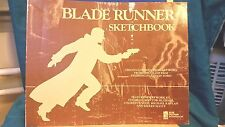 RARE - BLADE RUNNER SKETCHBOOK - 1st EDITION 1982 -ORIGINAL MOVIE ART WORK BOOK