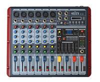 PA MISCHPULT LIVE-MIXER KLEINMIXER 6 KANAL DJ STUDIOMISCHPULT HALL ECHO USB b-wa