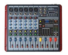 PA  MISCHPULT LIVE- MIXER KLEINMIXER 6 KANAL DJ STUDIOMISCHPULT HALL ECHO USB