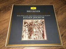 BRUCKNER 9 Symphonies DGG Tulip Stereo 11 LP Eugen Jochum NM