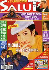 Magazine SALUT n°5,  Michael JACKSON, EAST17, 90210, HARTLEY, MELROSE PLACE, MN8