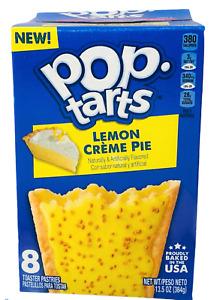 Kellogg's Pop Tarts Frosted Lemon Creme Pie Toaster Pastries 13.5 oz