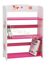 New Kid WoodenToy Organiser Storage 3-Tier Bookshelf  Bookcase (DL-003 Girl)