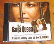 GANJA QUEEN RARE DVD, 2008, HBO, Schapelle Corby, Marijuana legislation CANNABI