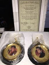 "Heirloom Elvis ""SOLID GOLD Edition"" Christmas Tree Ornaments *NEW*"