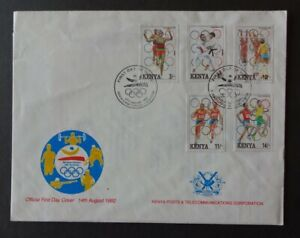 Kenia FDC 1992 - Olympische Sommerspiele, Barcelona
