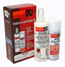 KNN Air Filter Cleaner and Oil Recharger Kit Spray Aerosol Can K&N