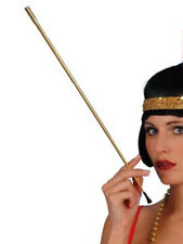 oro Estensibile Bocchino 1920s MASCHIETTA ABITO STRAVAGANTE da donna NUOVO