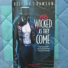 libro in INGLESE - Delilah S. Dawson - Wicked as they come - serie Blud