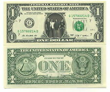 METALLICA VRAI BILLET de 1 DOLLAR ! Collection James HETFIELD Kirk HAMMETT Métal
