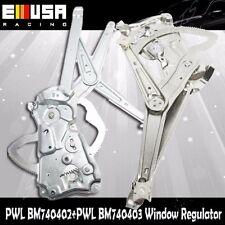 Front LH+RH Power Window Regulator w/o Motor for 95-99 BMW 318ti 740402 740403