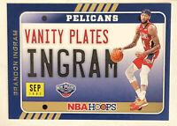 2020-21 Panini NBA Hoops Vanity Plates # 19 Brandon Ingram