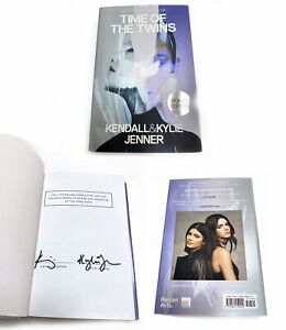"""Kendall & Kylie Jenner - Authentic Autographed Book """"Time of The Twins"""""""