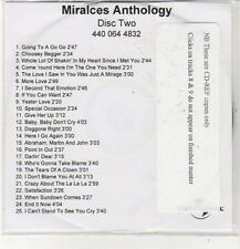 (CZ707) Miracles Anthology, Disc Two, 25 tracks - DJ CD