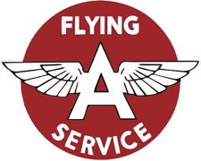 Vintage Flying A Service Decal - The Best