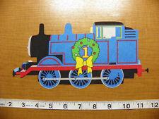 Thomas The Train Fabric Iron On Christmas style #4!!  Applique
