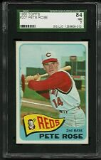 1965 TOPPS #207 PETE ROSE SGC 84 NM 7 CINCINNATI REDS TOUGH 3RD YEAR CARD