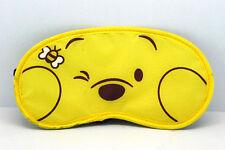 NEW funny bear yellow  Sleep Masks eye mask winnie the poon AB47