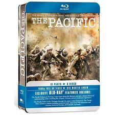 The Pacific - Complete HBO Series w/ Tin Box (Blu-ray, 6 Discs) NEW