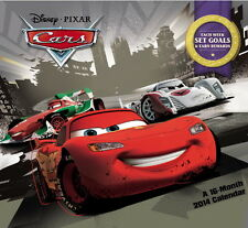 Walt Disney Pixar Cars Movies 16 Month 2014 Wall Calendar, New Sealed