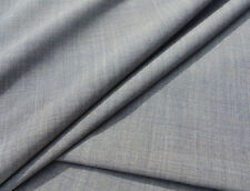 E111 CLASSIC MID GREY 2TONE PLAIN SUPER FINE150s PURE WOOL MOHAIR MADE IN ITALY