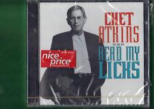 CHET ATKINS - READ MY LICKS  CD NUOVO SIGILLATO
