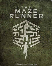 The Maze Runner (Blu-ray/DVD, 2-Disc Set, Digital Copy Steelbook)Brand New