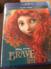 Disney Pixar Brave (Blu-ray+Digital) BRAND NEW FACTORY SEALED Free Shipping