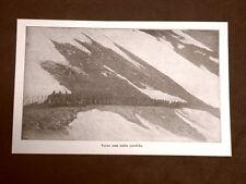 WW1 Prima guerra mondiale 1914-1918 Cadore nel 1916 Sosta di soldati italiani