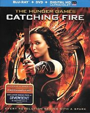 The Hunger Games Catching Fire (Blu-ray/DVD 2-Disc Set) NEW & SEALED w/slipcover