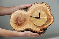 Unique Wall Clock Handmade Wooden Rustic Watche for Decor