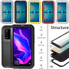 New LOVE MEI Waterproof Gorilla Glass Outdoor Case Cover For Huawei P30 Pro Lite
