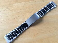 KREISLER FLEX-ON WATCH BAND BRACELET - N11Y/11 Center Clasp INDIGLO Ironman 19mm