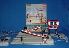 LEGO Eisenbahn 12 Volt 7866 Bahnübergang/ Level Crossing  mit  Anleitung