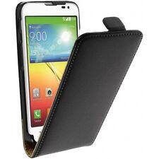 LG L70 D320 D320N L70 Dual Sim D325 - housse étui de protection à clapet - Noir