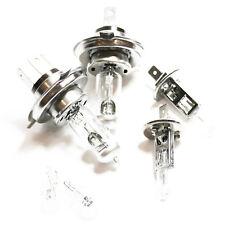 RENAULT Clio MK1 55w CLEAR XENON HID ALTO/BASSO/Nebbia/laterale dei fari lampadine Set