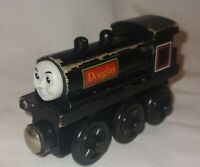 Thomas & Friends Wooden Railway Train Engine Douglas no Tender Rare GUC 2001