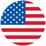 Button 25mm - USA - Flagge Vereinigte Staaten Amerika United States of America