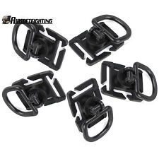 5X Molle 360 Rotation Sternum Strap System D Ring Swivel Buckle 18 25MM Webbing