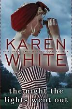 The Night the Lights Went Out by Karen White (Hard cover)
