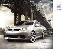 2009  09 VW  Rabbit  original sales brochure MINT