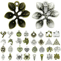 Wholesale Quality Tibetan Silver Charms Pendants Beads DIY Jewelry Making Craft