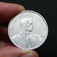 Pièce Argent 5 Francs Suisse Berger des Alpes Années Variées 1931 1969