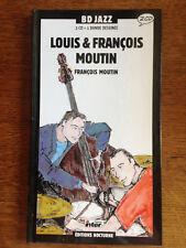 LOUIS & FRANCOIS MOUTIN BD CD JAZZ Editions Nocturne