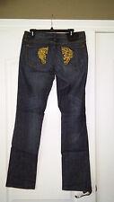 ED HARDY JEANS Christian Audigier Women's Ladies 100% Authentic Size 29 Pants