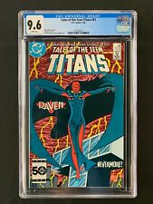 Tales of the Teen Titans #61 CGC 9.6 (1986) - Raven cover