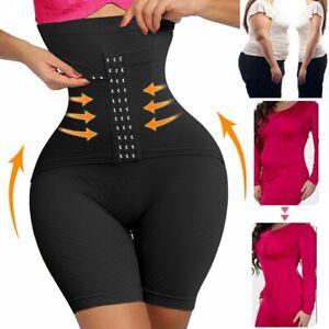 Women Seamless Thigh Slimmer High Waist Butt Lifter Belly Body Shaper Underwear