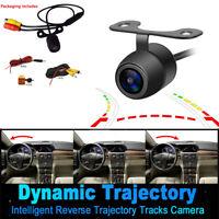 HD Dynamic Trajectory Car Rear View Camera Reverse Backup Parking Assistance