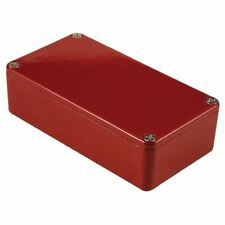 Hammond 1590BRD Aluminium 'Stomp Box' Enclosure Red (112 x 60 x 31mm)
