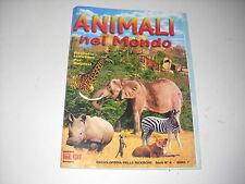ALBUM COMPLETO ANIMALI NEL MONDO FOL-BO 1972 ENCICLOPEDIA DELLE RICERCHE !!!!!